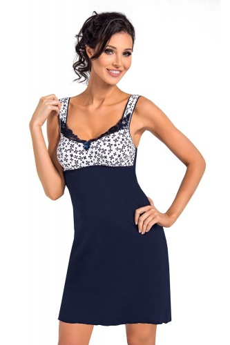 Polly nightdress Dark Blue