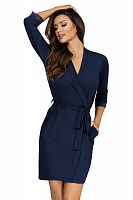 Eleni dressing gown Dark Blue