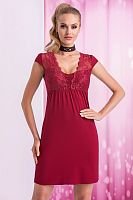 Taylor nightdress Burgundy