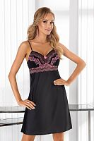 Sofia nightdress Black