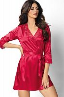 Venus dressing gown Red