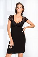 Brigitte nightdress Black