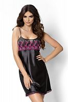 Janette nightdress Black