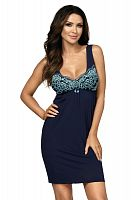 Flavia nightdress Dark Blue