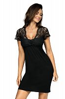 Kasiya nightdress Black
