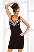 Megan nightdress Black