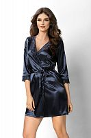 Venus dressing gown Dark Blue