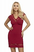 Dafne nightdress Burgundy