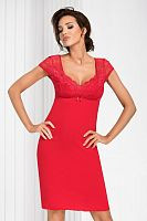 Brigitte nightdress Red