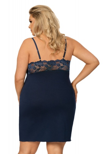 Lucia plus nightdress Dark Blue фото 2