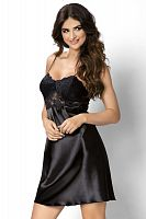 Venus nightdress Black