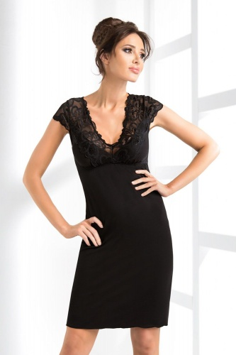 Romina nightdress Black