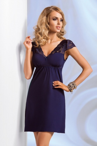 Diana nightdress Dark Blue