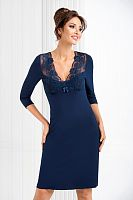 Simone II nightdress Dark Blue