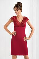 Romina nightdress Burgundy