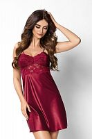Venus nightdress Burgundy