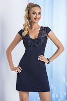 Taylor nightdress Dark Blue