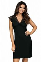 Eleni nightdress Black