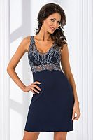 Gloria II nightdress Dark Blue