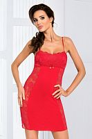 Brigitte II nightdress Red