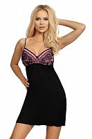 Patrizia nightdress Black