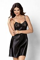 Aisha nightdress Black